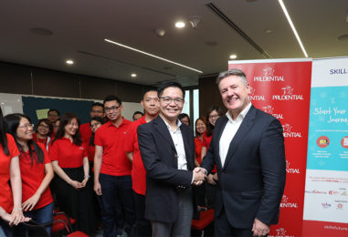Prudential Singapore Workforce will be Trained in Innovation, Social Media, Data Analytics and Entrepreneurship
