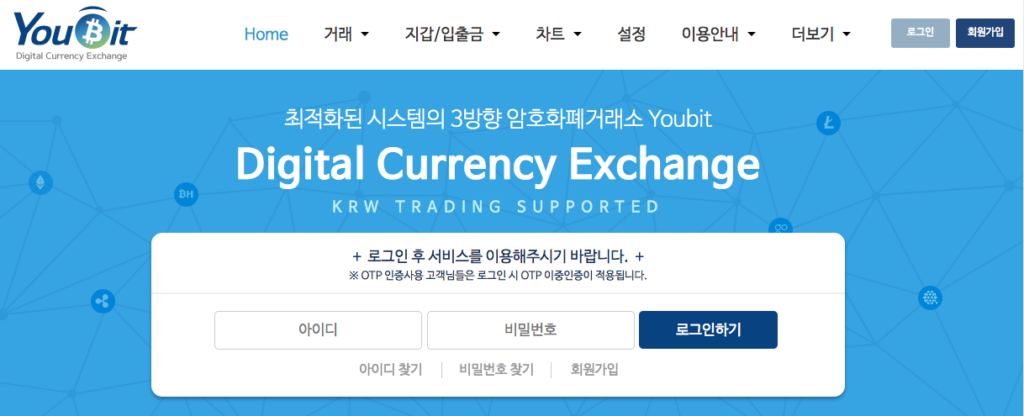 Youbit Korean Cryptocurrency Exchanges
