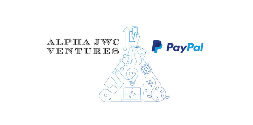 Alpha JWC Ventures and PayPal Provide Up to US$5 Million Funding to FinTech Startups