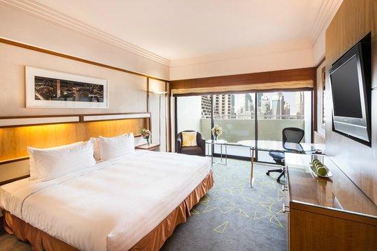 Deluxe Balcony Room, Pan Pacific Singapore