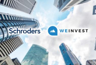 Schroders Invests In Singapore Wealthtech Startup Weinvest