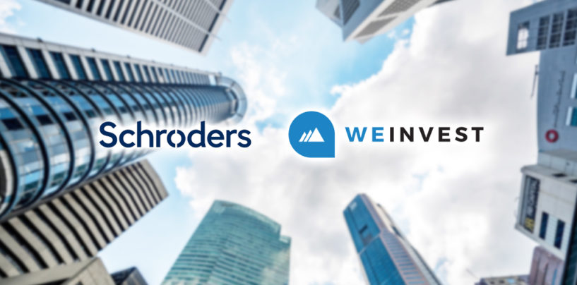 Schroders Invests In Singapore Wealthtech Startup Weinvest