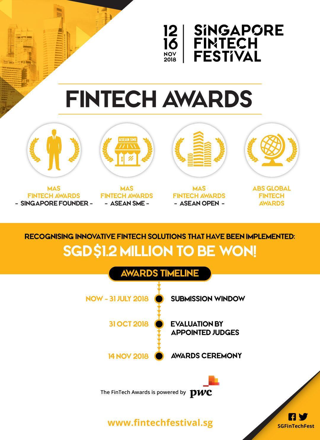 Singapore Fintech Awards 2018