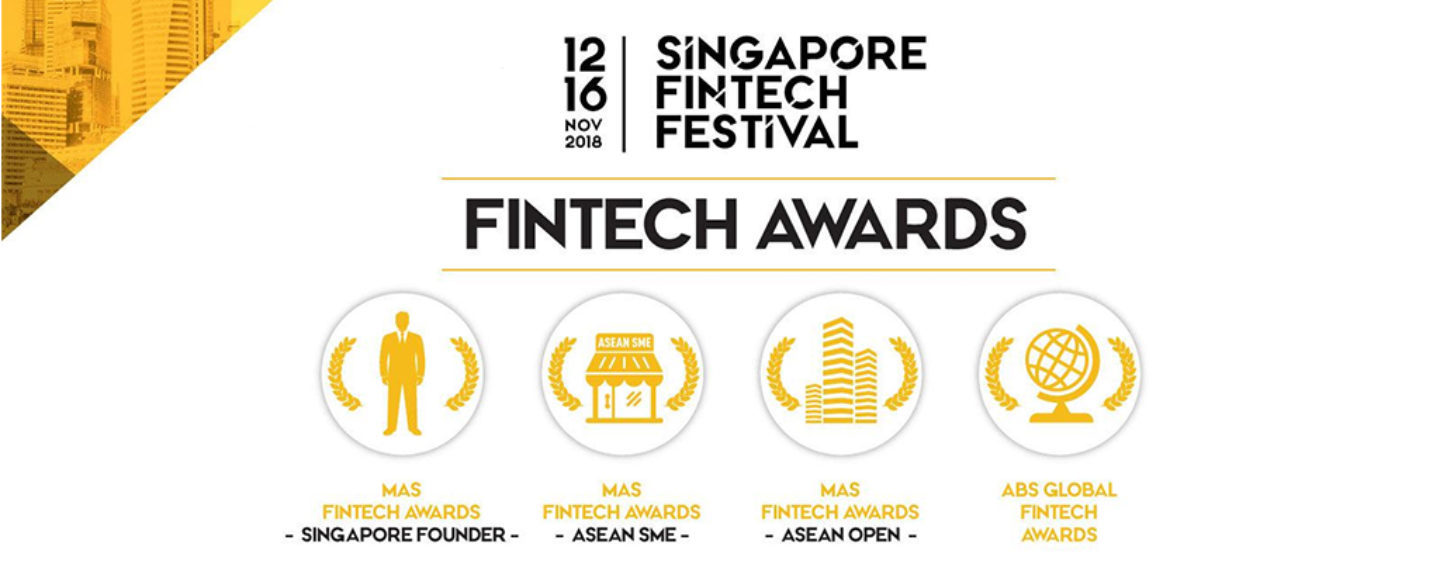Application Open: Singapore Fintech Festival Awards 2018