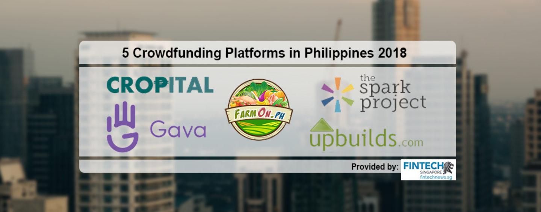 Top 5 Crowdfunding Platforms in Philippines 2018