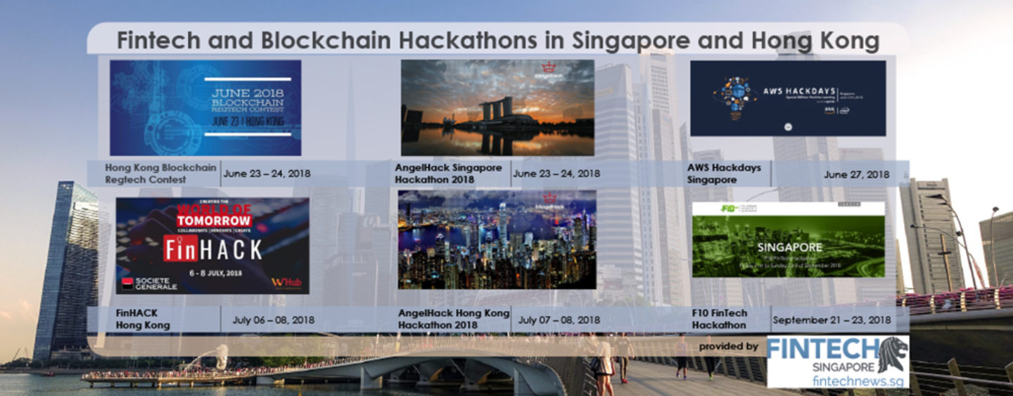 6 Upcoming Fintech Hackathons in Singapore and Hong Kong