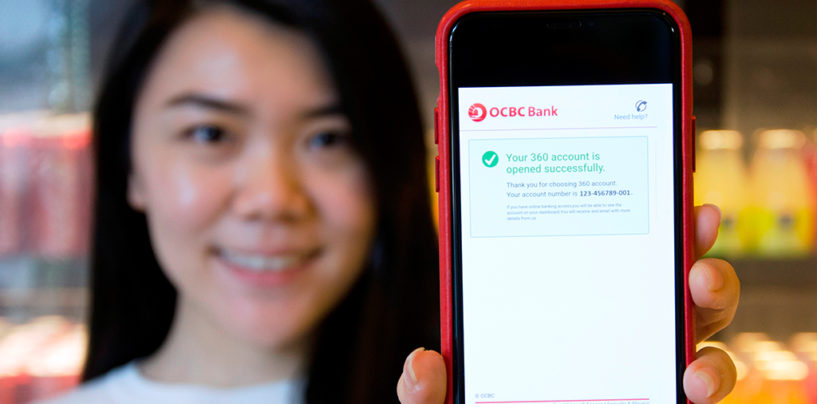 OCBC's Next Digital Play: Instant Bank Account Opening