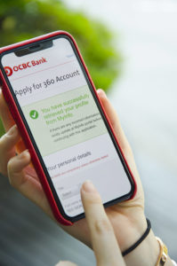 OCBC bank 360 Instant account opening