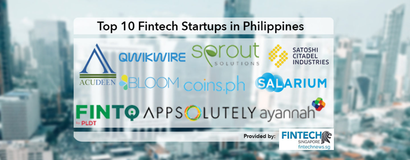 Top 10 Fintech Startups in Philippines 2018