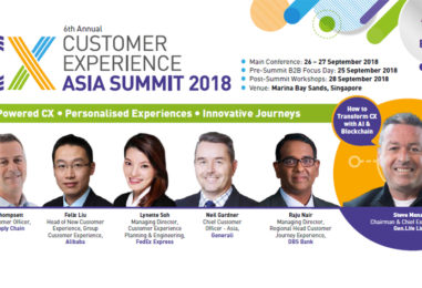 CX Leaders Maximising their Customer Experience ROI at Asia's Largest CX Event