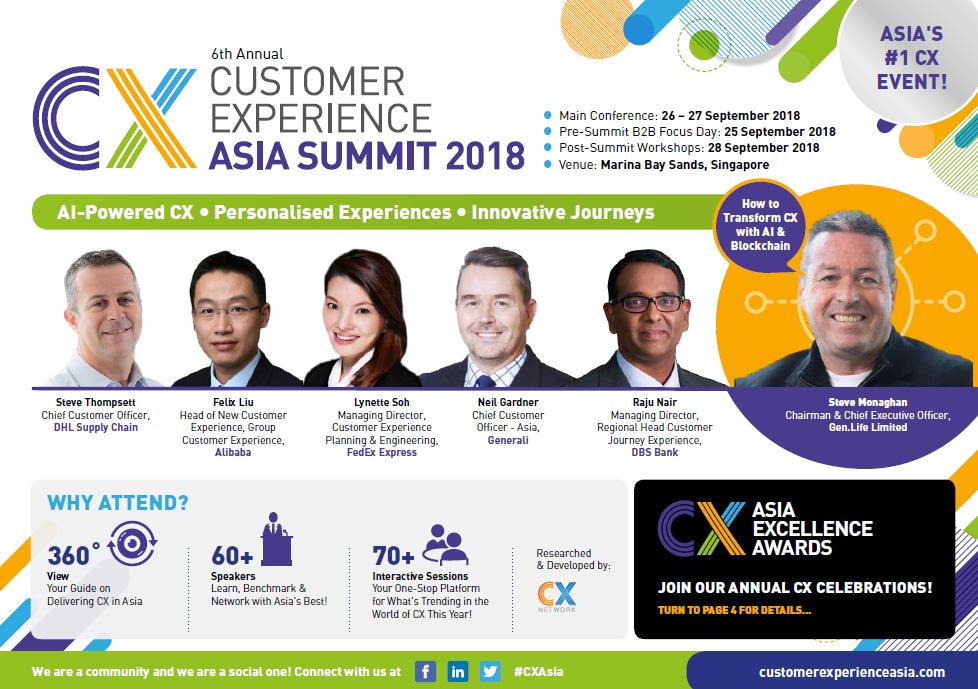 CX Asia Summit