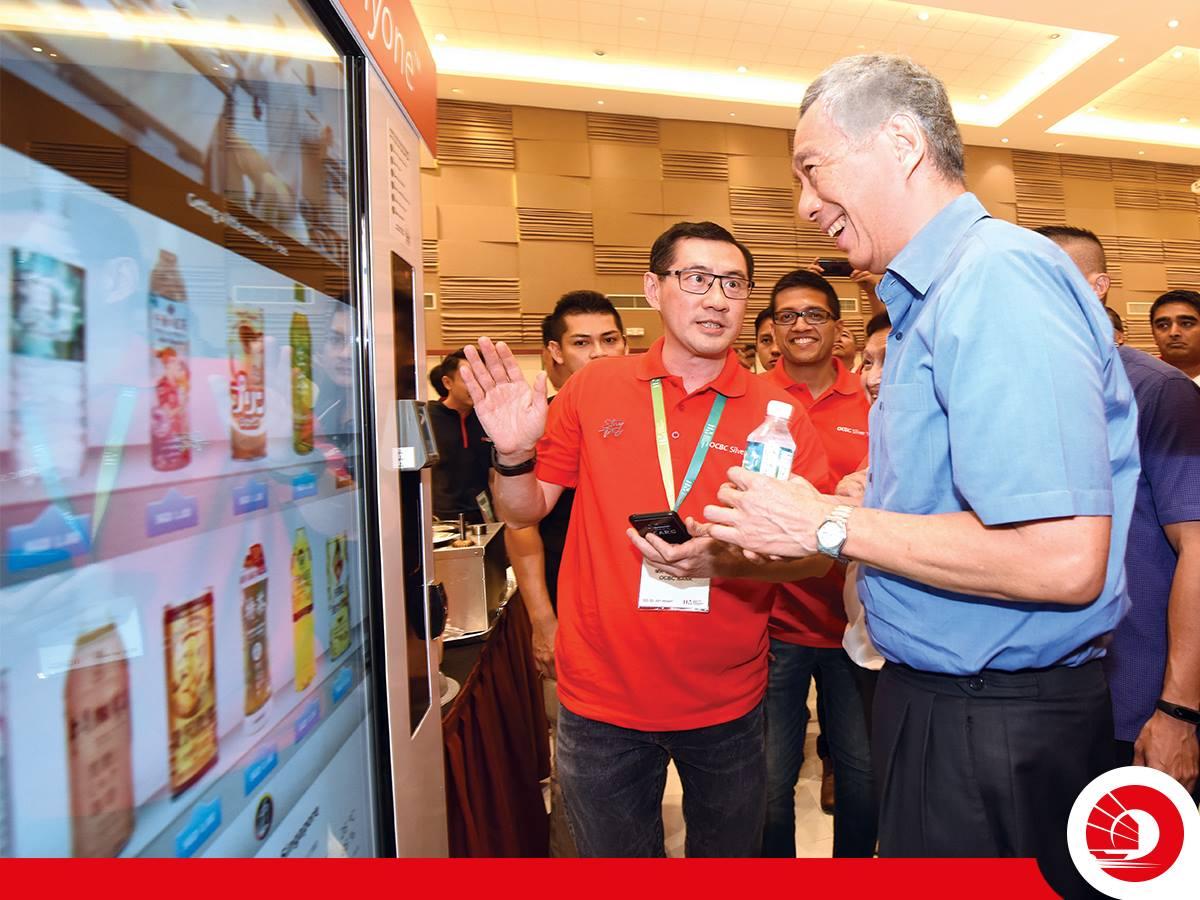 OCBC Bank digital payment kiosk atm new machines bank tellers