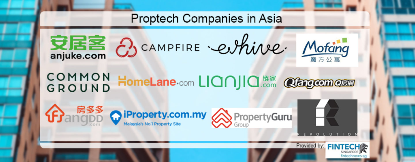 12 Proptech Companies in Asia You Should Know