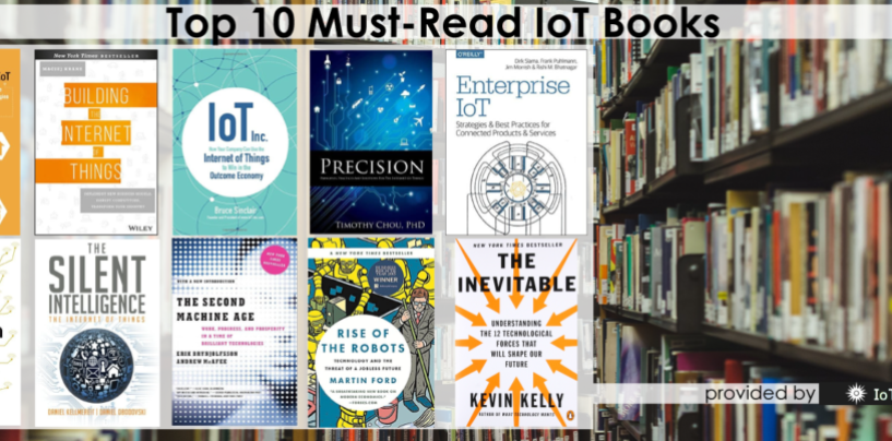 Top 10 Must-Read IoT Books (This Summer)