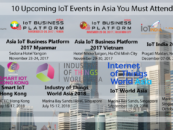 10 Upcoming IoT Events in Asia You Must Attend