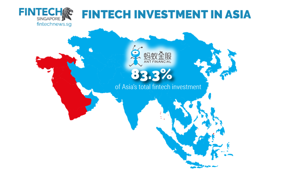 ant financial china total investment asia fintech