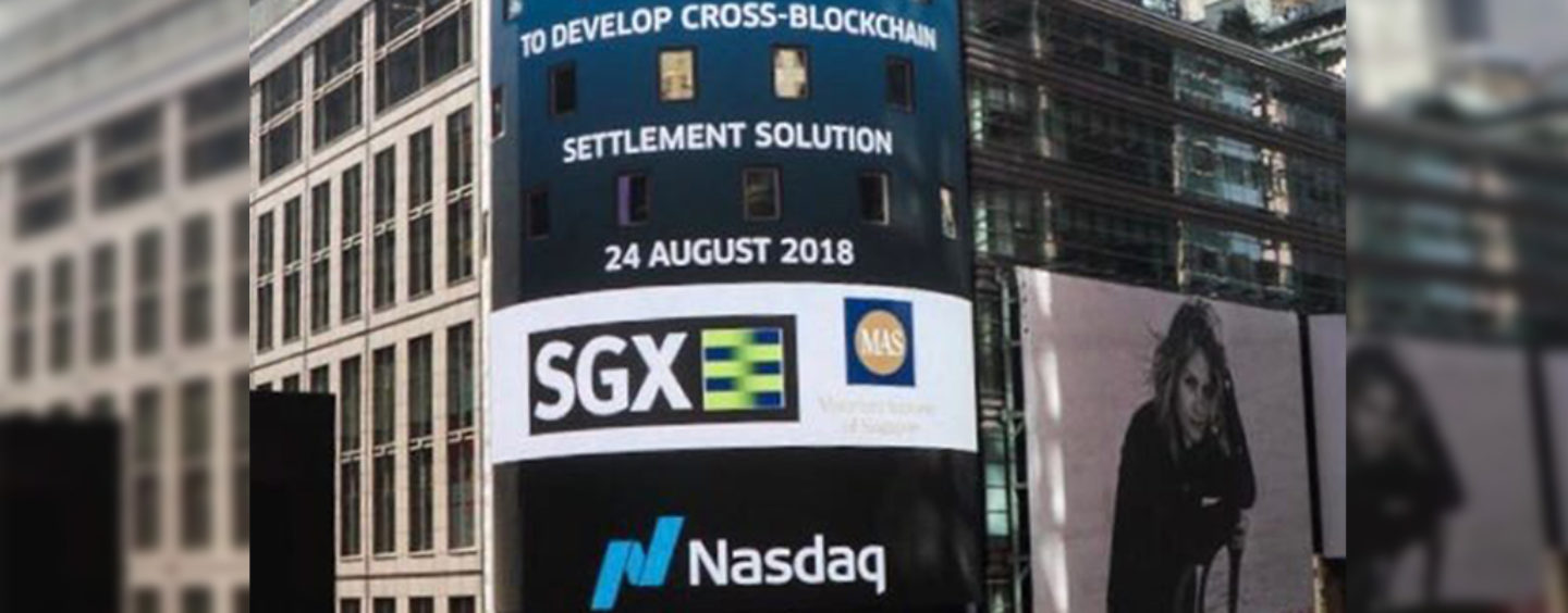 Singapore and Nasdaq Partnership for Blockchain Settlement of Tokenised Assets
