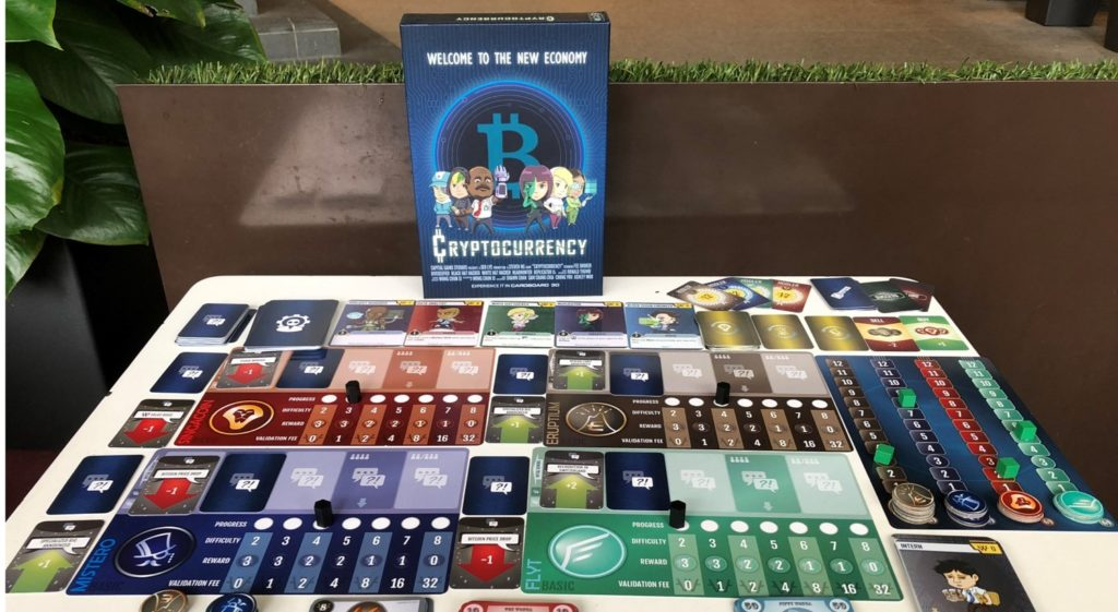 cryptocurrency singapore board game kickstarter monopoly