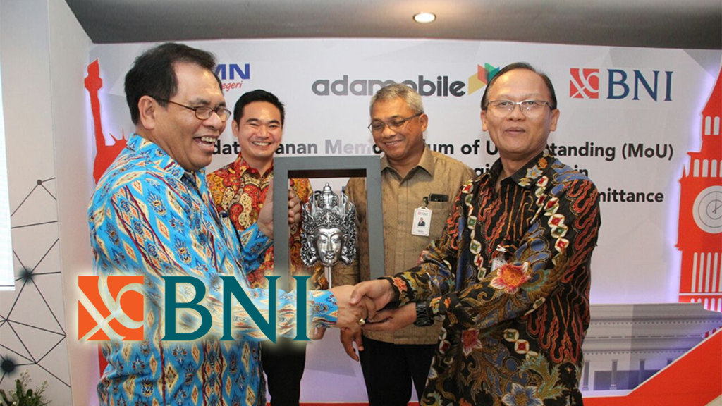 indonesia bank negara indonesia blockchain hub blockchain development fintech banking association MoU