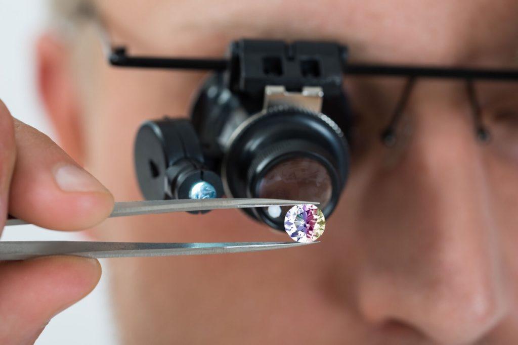 pure diamond farm ico lab-grown diamond blockchain