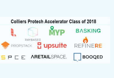 The 10 Startups Who Made it into the Colliers Proptech Accelerator