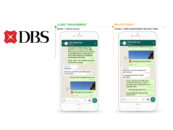 DBS Aims to Save 10,000 Manhours Through Whatsapp and WeChat Banking Service