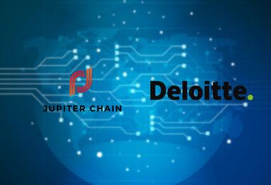 Deloitte & Jupiter Chain Teams Up on a Blockchain Powered Data Exchange