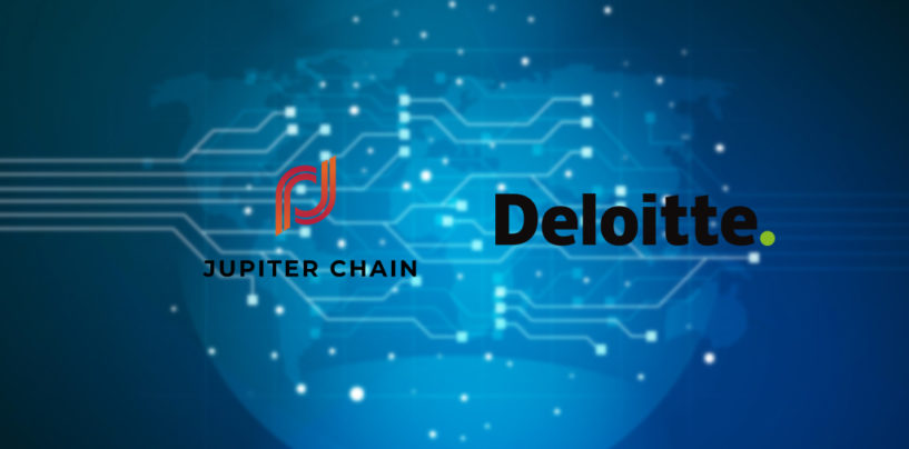 Deloitte & Jupiter Chain Teams Up on a Blockchain Powered Data Exchange
