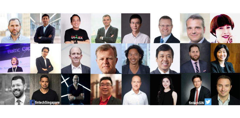 24 Fintech Experts and Entrepreneurs to Meet at Singapore Fintech Festival 2018