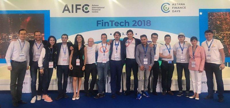 Fintech Stars KZ Pitch 2018