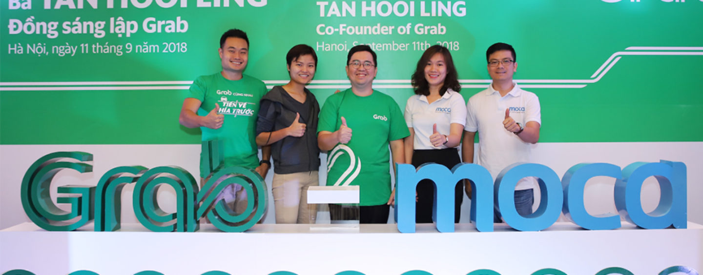 Grab And Moca Announce Strategic Partnership To Promote Cashless Payment On Grab Platform And In Vietnam