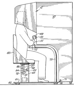 Heilig's design for his Sensorama (VR) machine