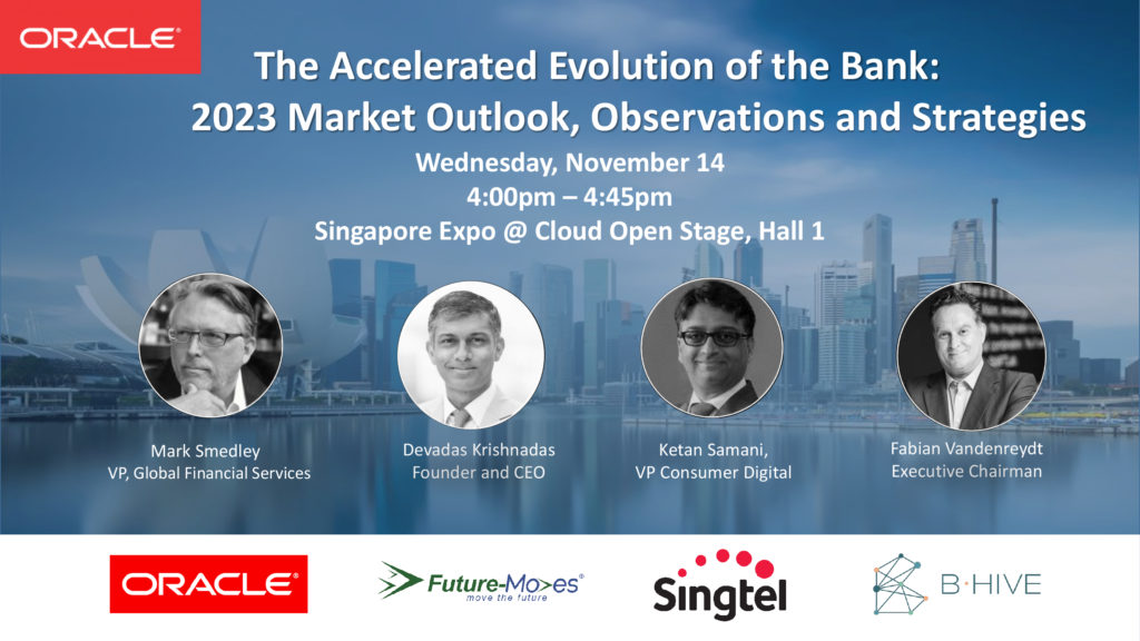 Oracle Bank Evolution Singapore Fintech Festival 2018 -SG Fintech Fest 2