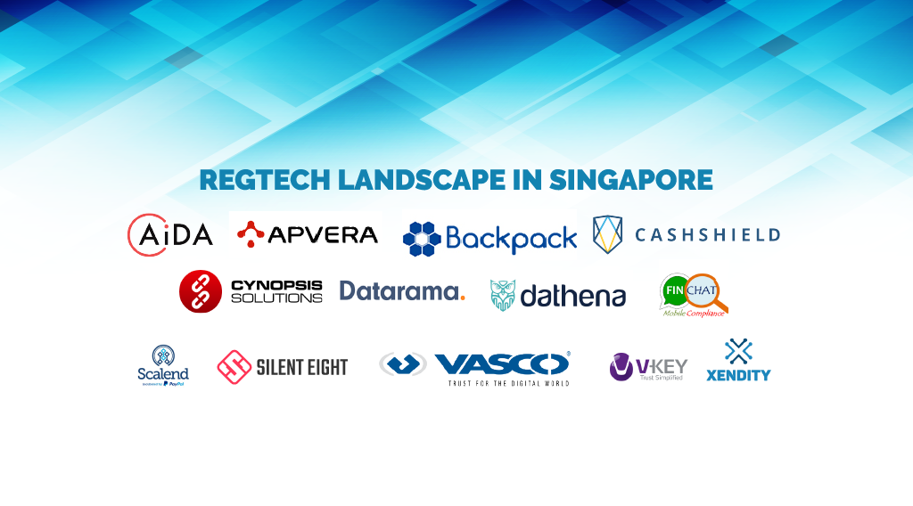 Snapshot of Singapore's Booming Regtech Scene - Fintech Singapore