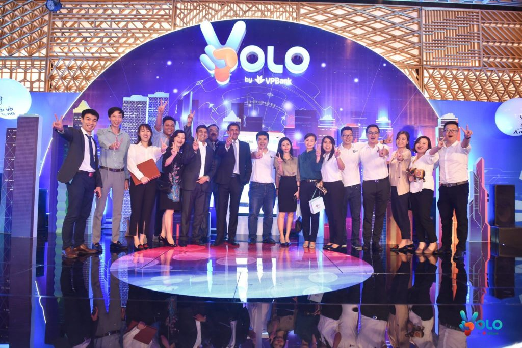 VPBank launches YOLO, September 2018, via Facebook