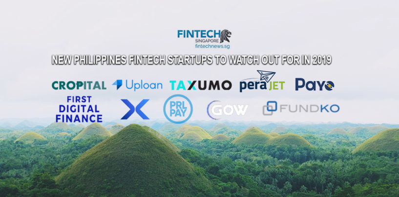 10 New Philippine Fintech Startups to Watch out for in 2019