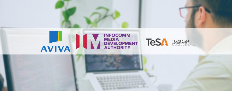Aviva Singapore Partners IMDA for Cloud Computing Training