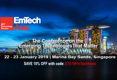 EmTech Asia 2019 Expands by 200 Percent Since Its Inception