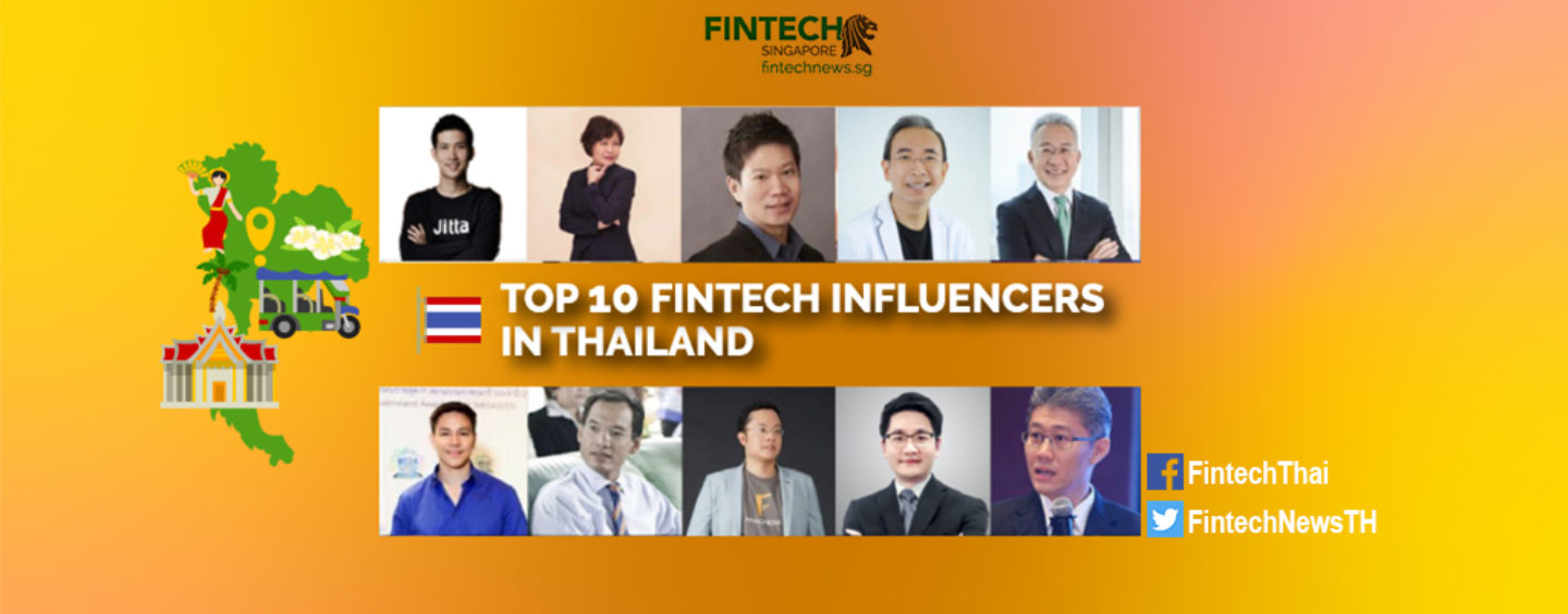 Top 10 Thailand Fintech Influencers