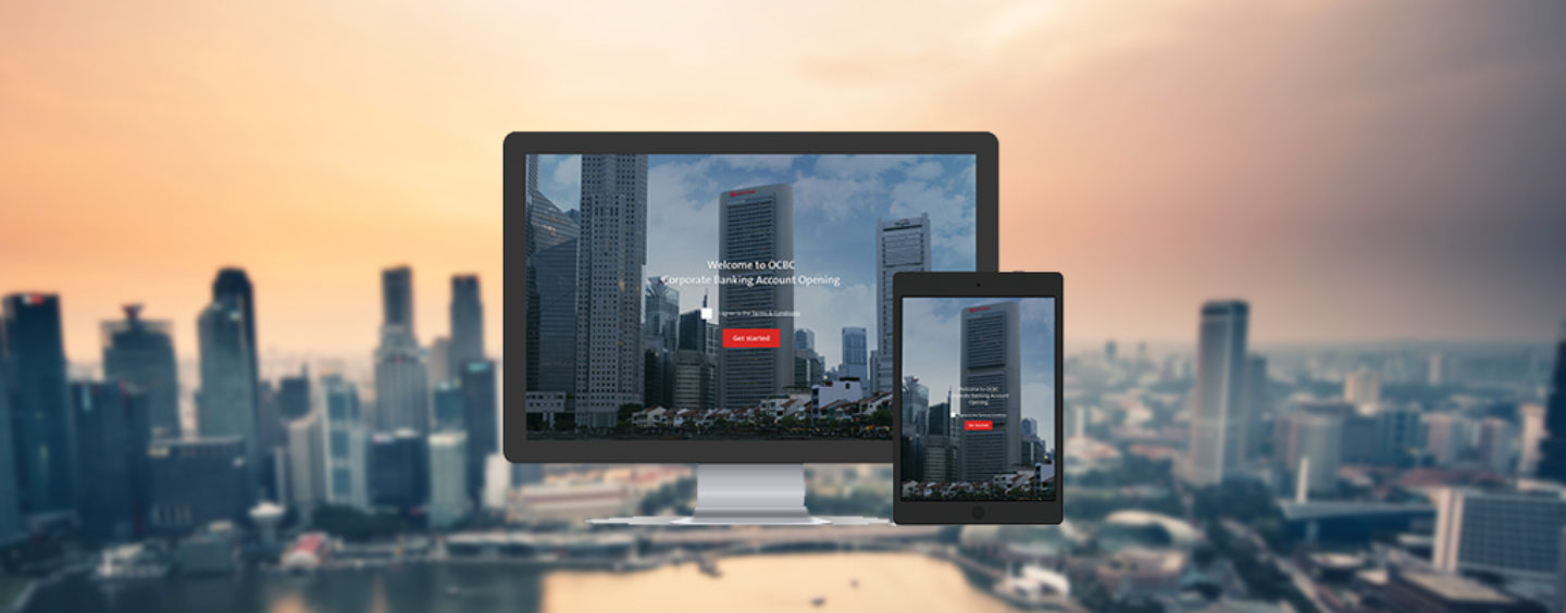OCBC Bank Roll Outs Digital Account Opening Service For Multi National Companies