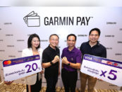 "In Thailand you can Pay now with your Smartwatch ""Garmin Pay"""