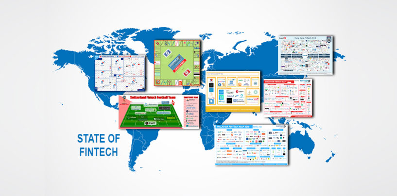Fintech News Network: 12 Infographics Showcasing the State of Fintech Around the World