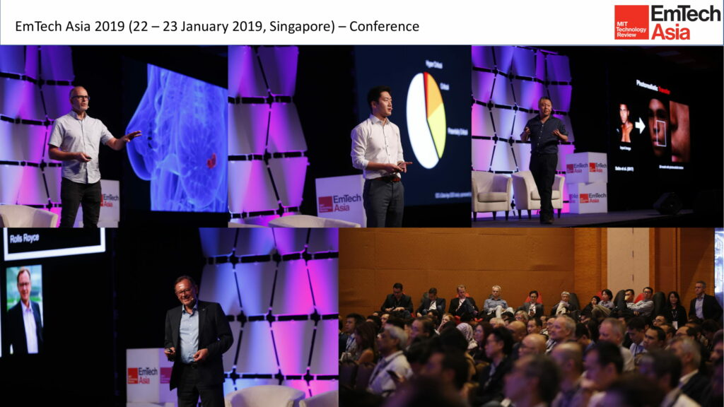 EmTech Asia 2019 Conference