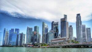 Singapore River Skyline, Pixabay