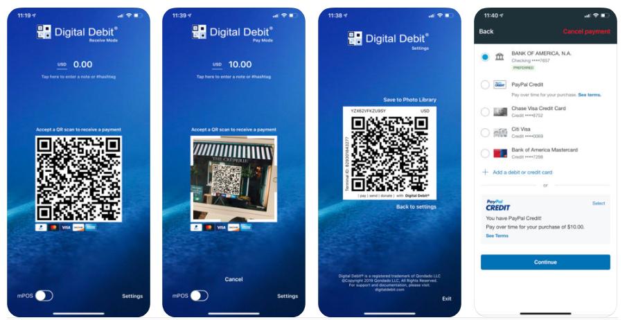 digital debit itunes app screenshot