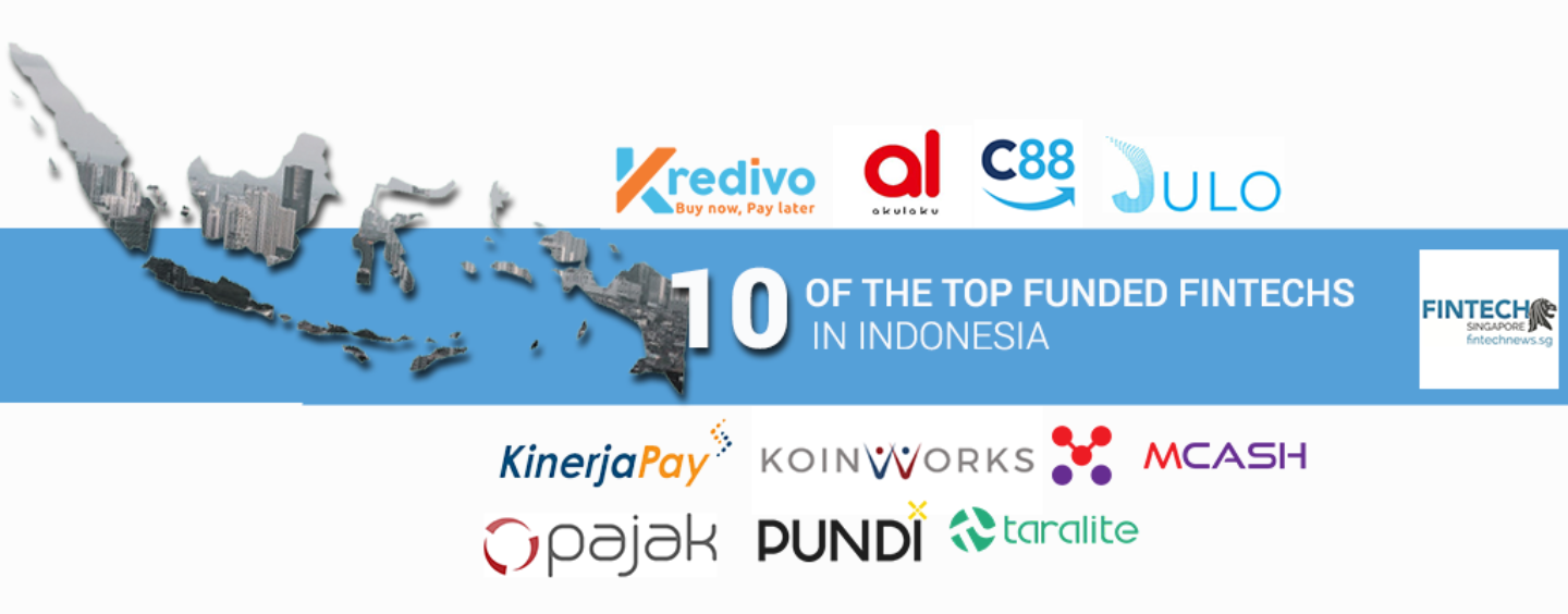10 Top Funded Fintech Companies in Indonesia