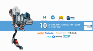 top funded startup fintech thailand finance technology
