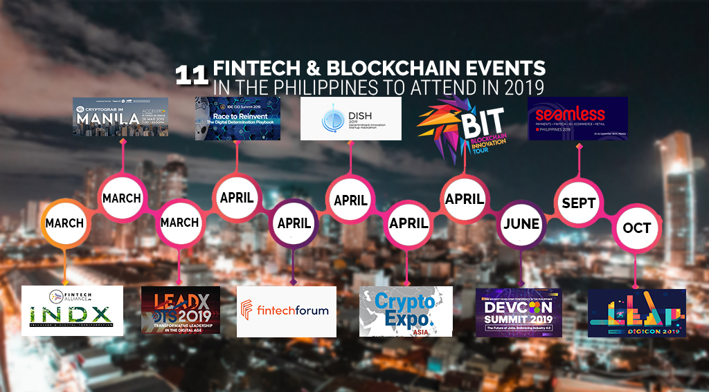 11 Fintech and Blockchain Events in the Philippines to Attend in