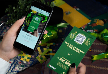 With SG$1.5 Mil Loaded for CNY, DBS Extends its QR-Backed Money Packets for Raya