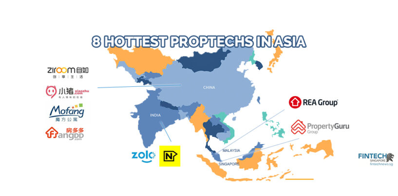 8 Hottest Proptech Players in Asia